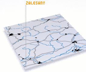 3d view of Zalešany