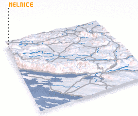 3d view of Melnice