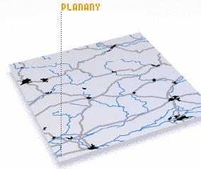 3d view of Plaňany