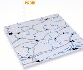3d view of Radím