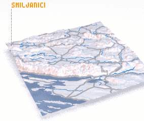 3d view of Smiljaniči