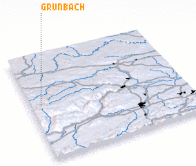 3d view of Grünbach