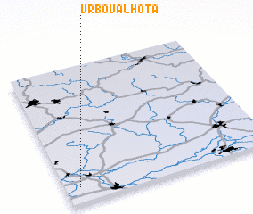 3d view of Vrbová Lhota