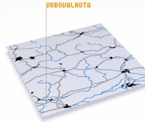 3d view of Vrbová Lhota