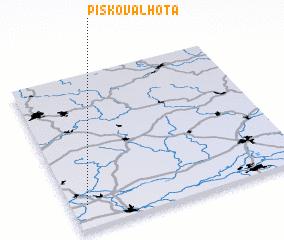 3d view of Písková Lhota