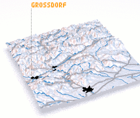 3d view of Grossdorf