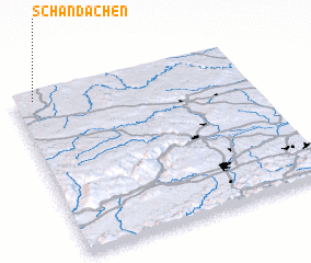 3d view of Schandachen