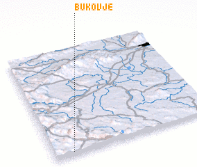 3d view of Bukovje