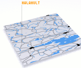 3d view of Hålahult