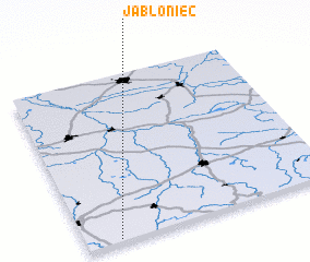 3d view of Jabłoniec