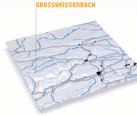 3d view of Grossweissenbach