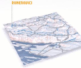 3d view of Rumenovići
