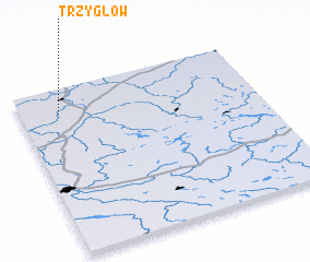 3d view of Trzygłów