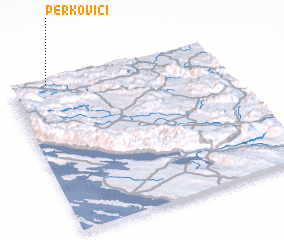 3d view of Perkovići