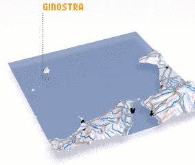 3d view of Ginostra
