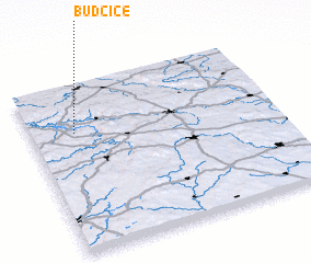 3d view of Budčice