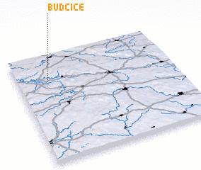 3d view of Budčice