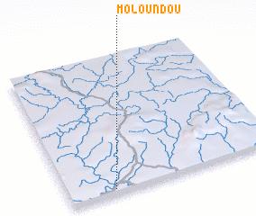 3d view of Moloundou