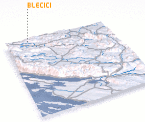 3d view of Blečići