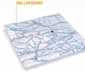 3d view of Hallersdorf
