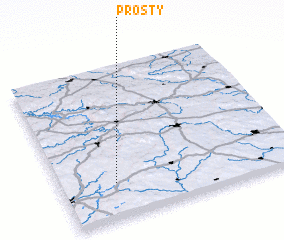 3d view of Prostý