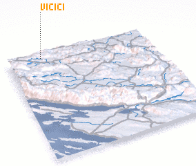 3d view of Vičići