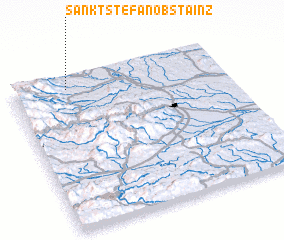 3d view of Sankt Stefan ob Stainz