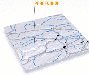 3d view of Pfaffenhof