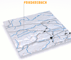 3d view of Friedersbach