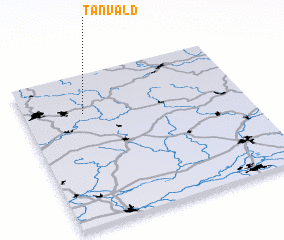 3d view of Tanvald
