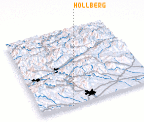 3d view of Höllberg
