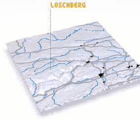 3d view of Loschberg