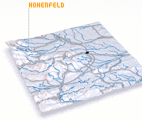 3d view of Hohenfeld