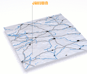 3d view of Jakubín