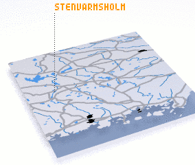3d view of Stenvarmsholm