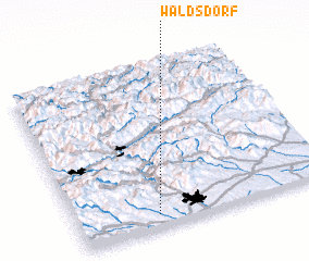 3d view of Waldsdorf