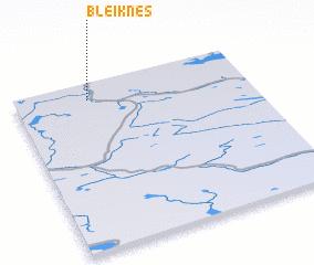 3d view of Bleiknes