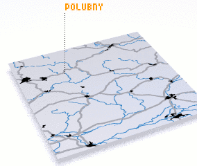 3d view of Polubný