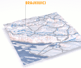 3d view of Brajkovići