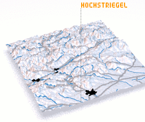 3d view of Höchstriegel