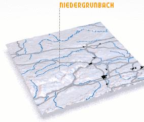 3d view of Niedergrünbach