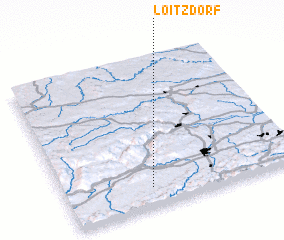 3d view of Loitzdorf