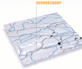 3d view of Nonnersdorf