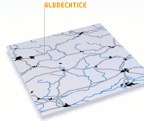 3d view of Albrechtice