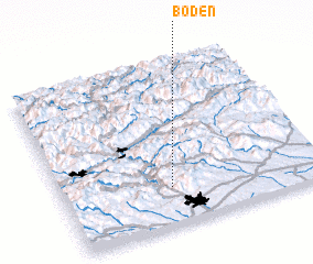 3d view of Boden