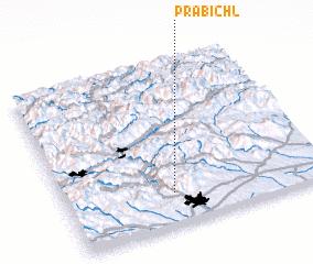 3d view of Präbichl