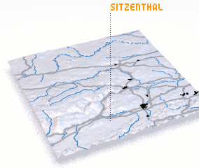 3d view of Sitzenthal