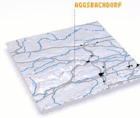 3d view of Aggsbach Dorf