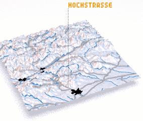 3d view of Hochstrasse