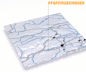 3d view of Pfaffing bei Mauer